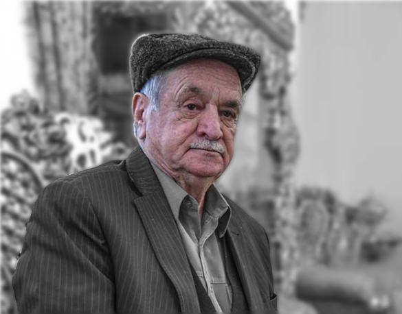 حاج حسن ایزدی بنیانگذار رستوران ارم شاندیز